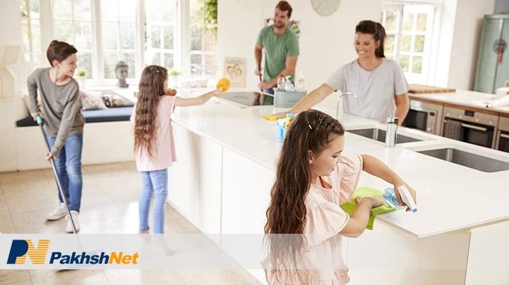 چطور لوازم برقی خود را تمیز کنیم؟