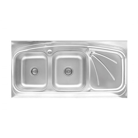 سینک ظرفشویی بیمکث BS514 روکار لگن چپ