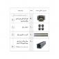 مکانیزم تاپ لاین سوپر اسلیم توکار سه درب (شیارخور) مدل 11018 و 11011 و 11016 ملونی