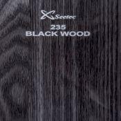 ام دی اف هایگلاس چوب مشکی مدل 235 سی تک