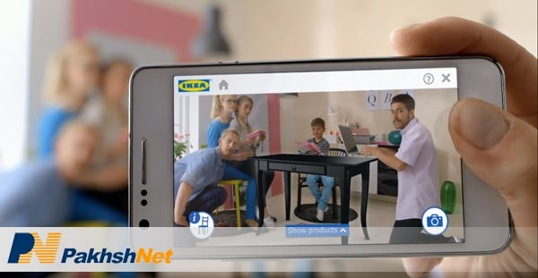 اپلیکیشن واقعیت مجازی واقعیت افزوده IKEA